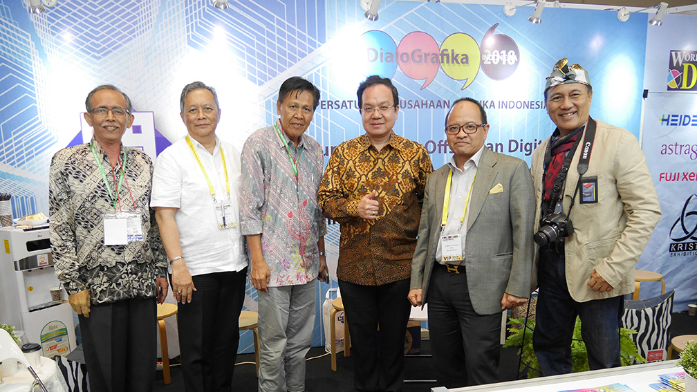 Booth PPGI World of Digital Print Expo 2018